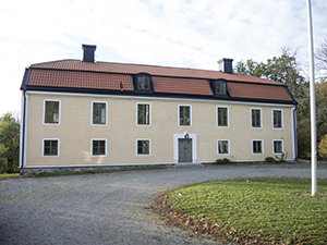 The current appearance of the mansion at Funbo Lövsta, photo.
