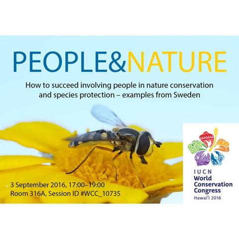 Info om svensk workshop på IUCN världskongress 2016.